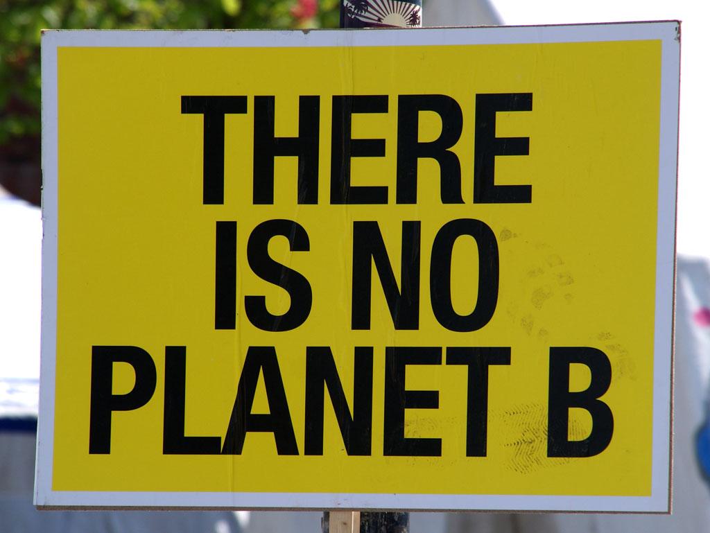 Es gibt keine zweite Erde!