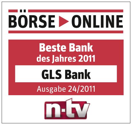 Beste Bank des Jahres 2011