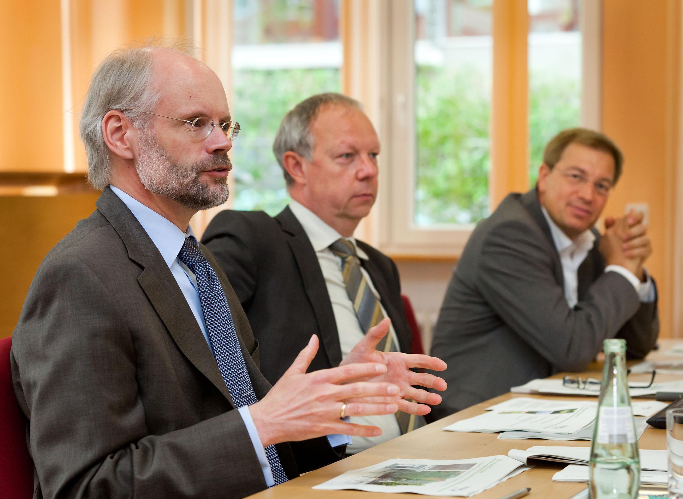 GLS Bank Pressekonferenz