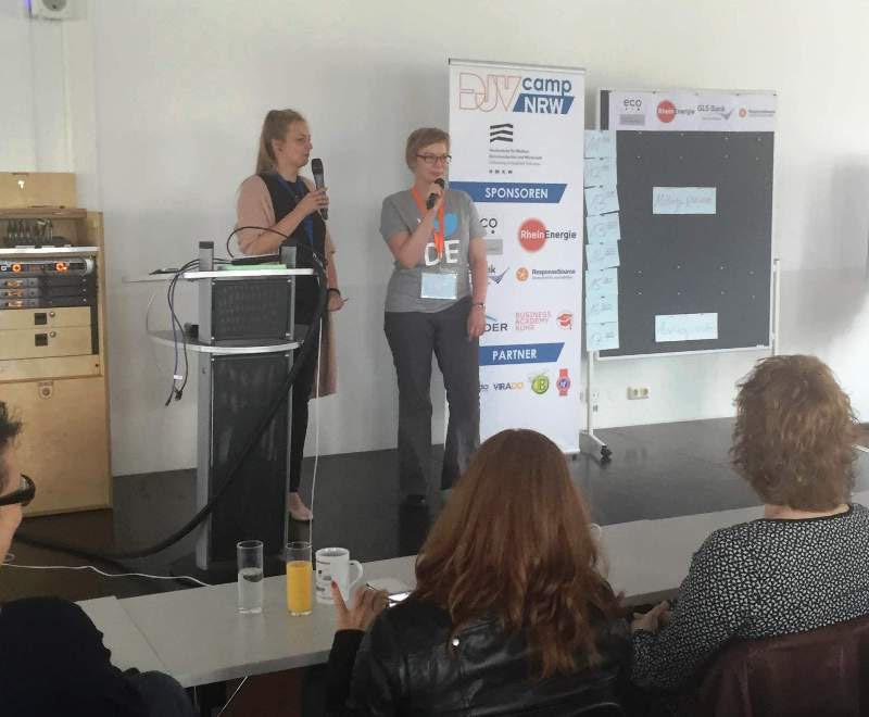 DJV Barcamp Initiatorinnen