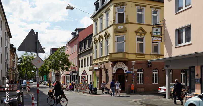 Lewerentzstraße in Krefeld