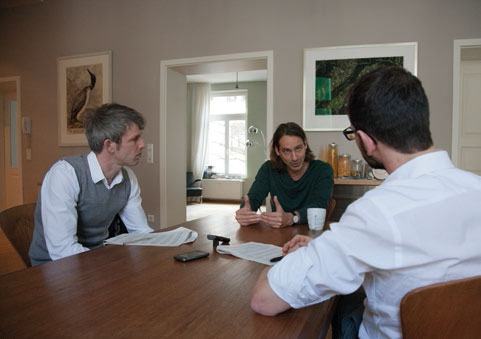 Das Interview führten Frank Augustin und Wolfram Bernhardt.