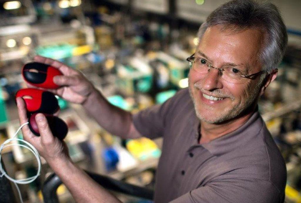 Theo Besgen, BeoPlast, mit Biokunststoffgehäusen für die faire Computermaus