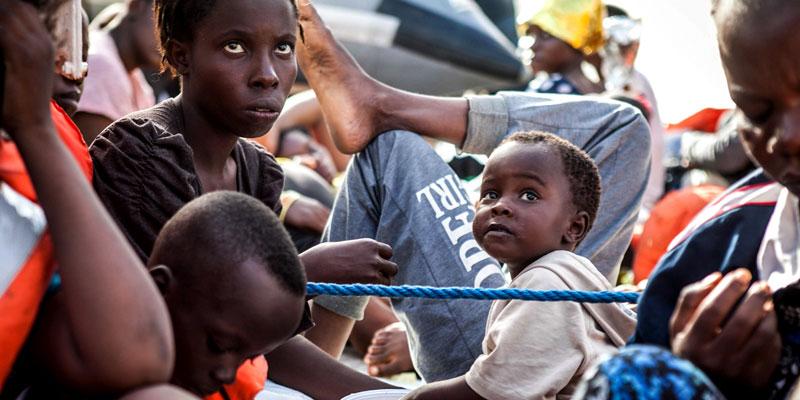 resqship - rettungseinsatz Frauen und Kinder