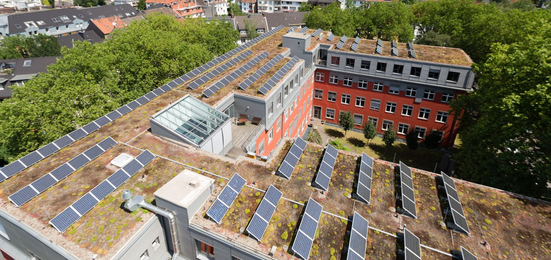 PV-Anlagen - beitrag zum Umweltschutz