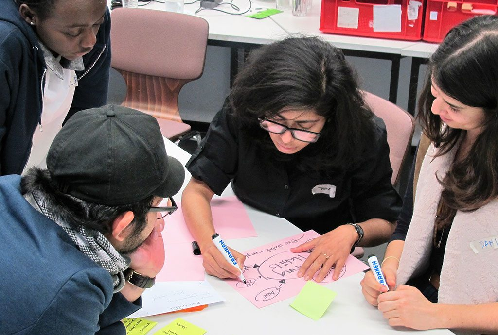 Studierende aus Entwicklungsländern lenren selbst zu gründen