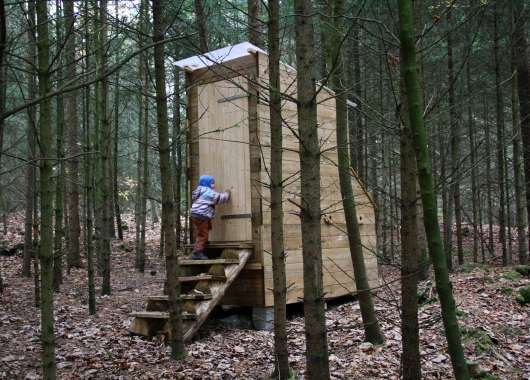 Komposttoilette von Transportable Räume