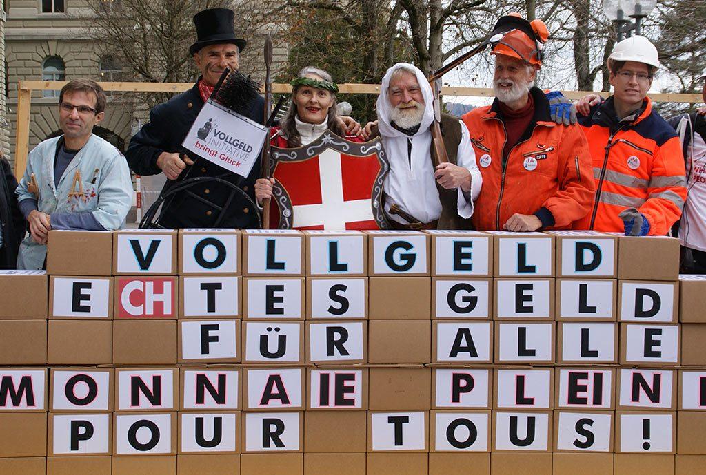 Schweizer Volksabstimmung - Vollgeld!
