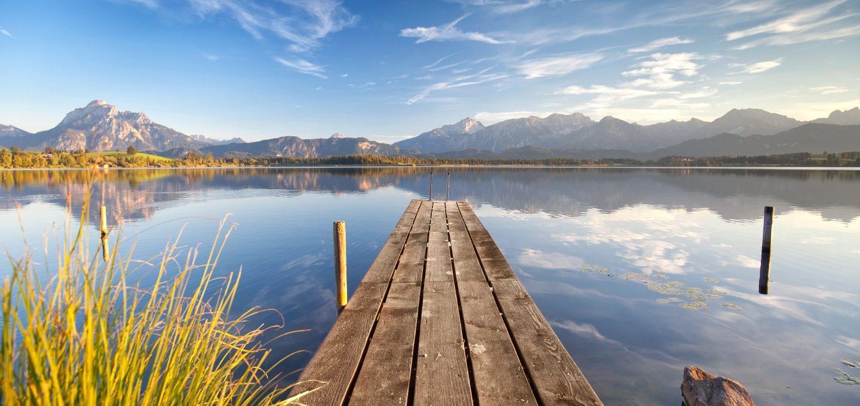 Wirtschaftsteil: Seen und Flüsse