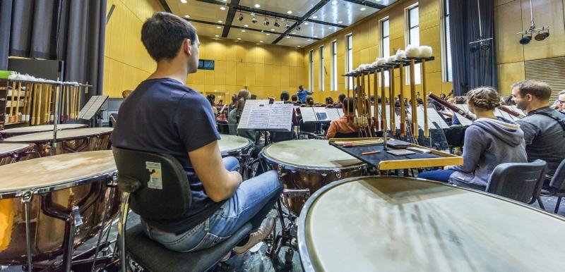Junge Deutsche Philharmonie: Schlagzeug