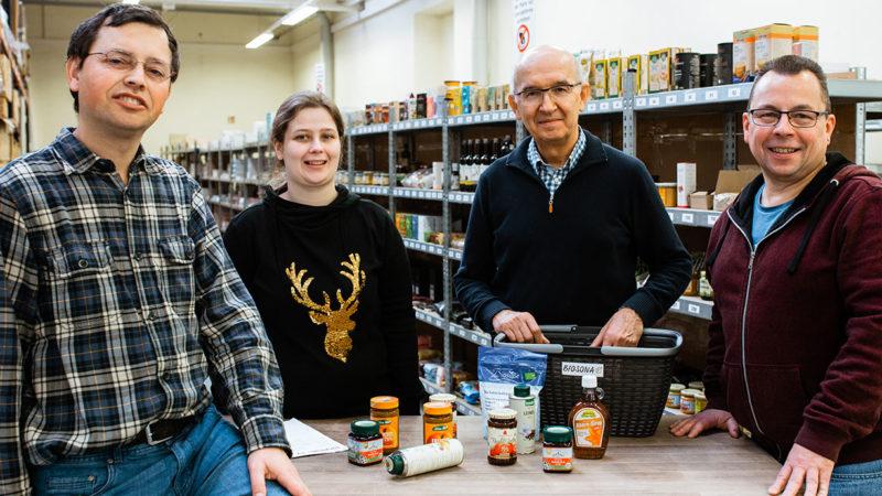 Biosona: Start-up-Rentner Tranelis verkauft nach seinem Ausscheiden aus dem Berufsleben per Onlineshop biologisch zertifizierte Produkte.