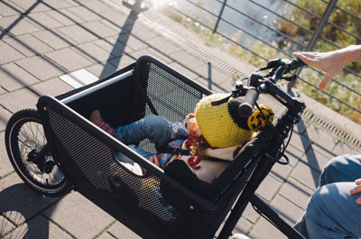 Muli Cycles - Kindertransport