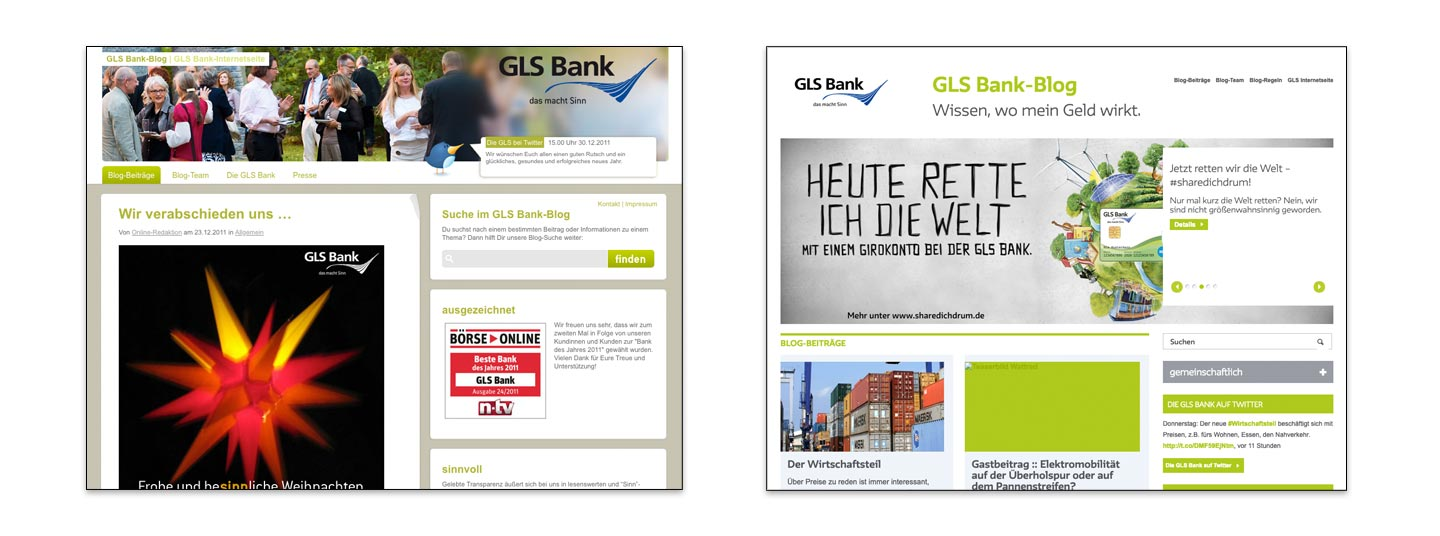 Das GLS Bank Blog