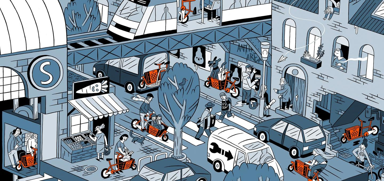 Lastenrad als die Alternative zum Auto? Muli macht es möglich.