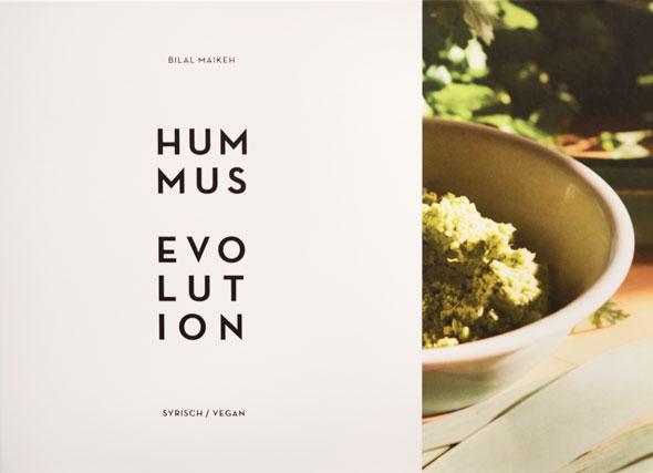 Titel Hummus Evolution - Ein Syrisch-veganes Kochbuch