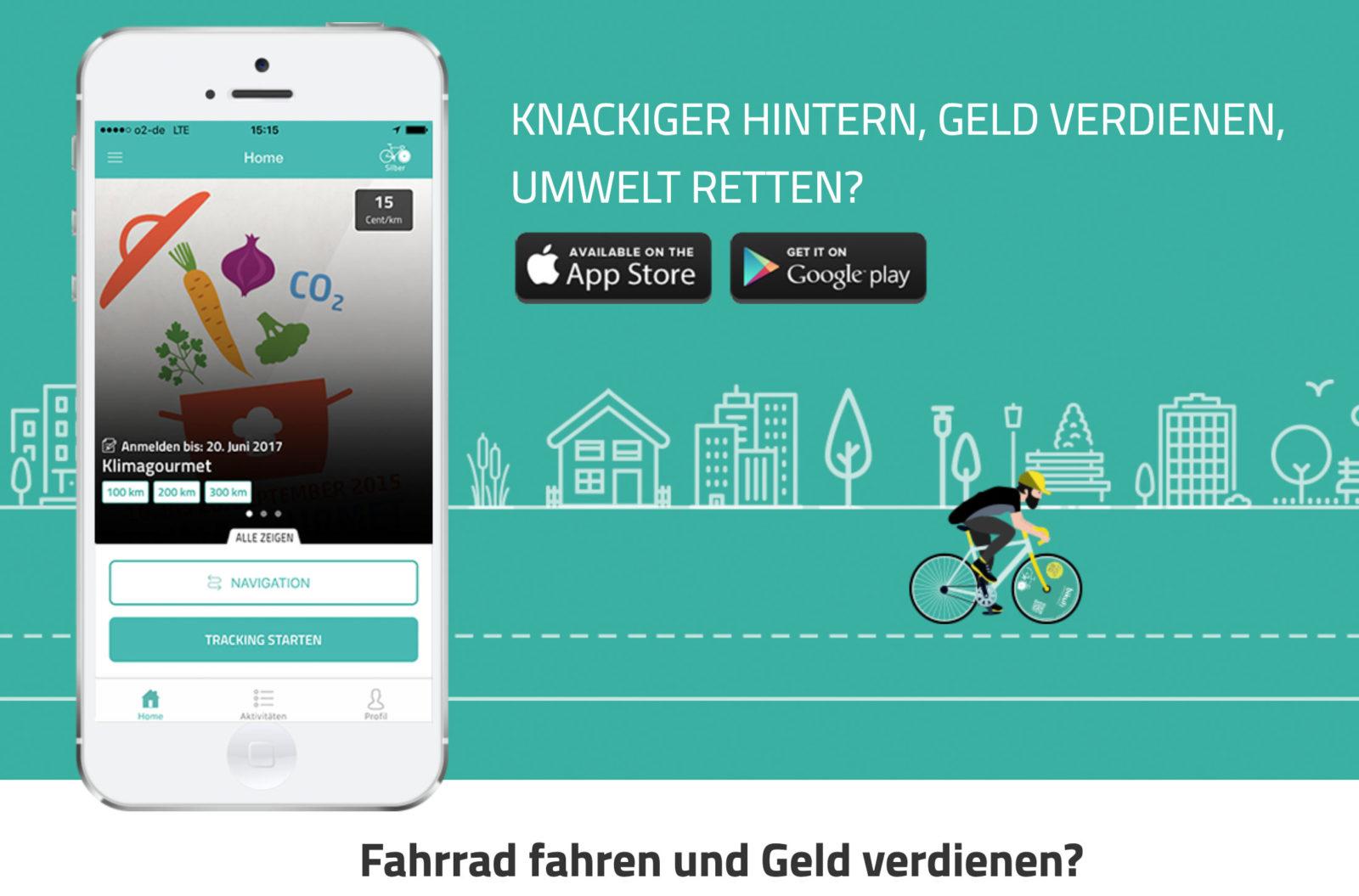 bikuh: Gesunde Werbung mit dem Rad