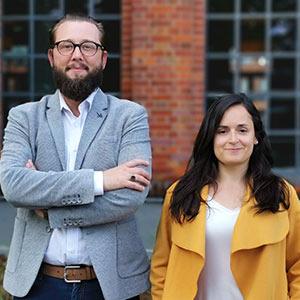 Patrick Kolb und Angela Gonzalez / bikuh: Gesunde Werbung mit dem Rad
