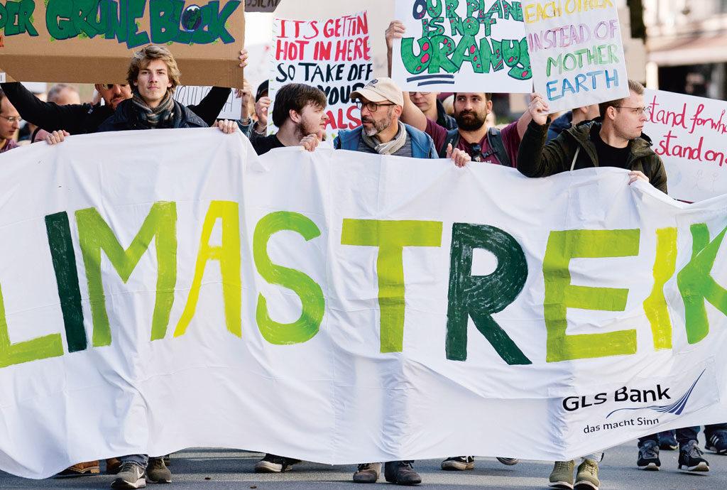 GLS Bank beim Klimastreik
