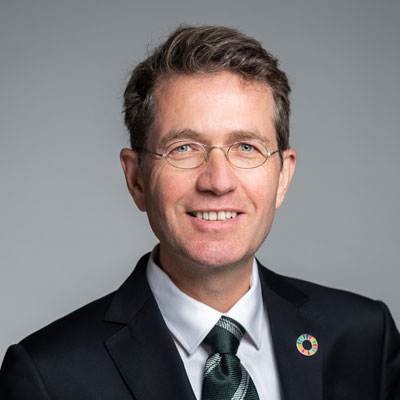 Dr. hermann Falk, Vorstand GLS Treuhand