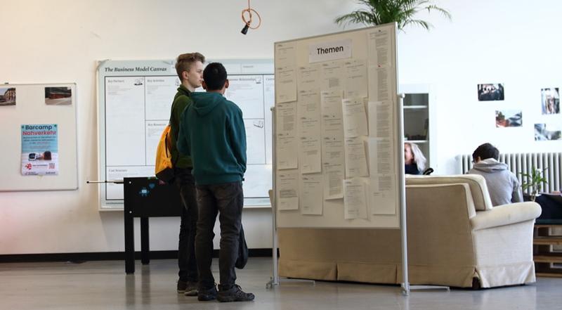 Barcamp Nahverkehr Einfach Einsteigen