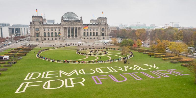 Klima Mitbestimmung Jetzt: Mehr Demokratie Bürgerräte