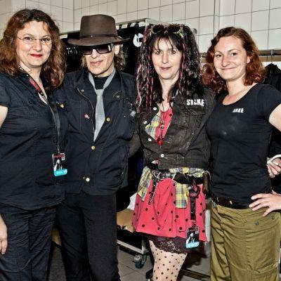 Udo Lindenberg und Crewmitglieder / Foto: Tine Acke