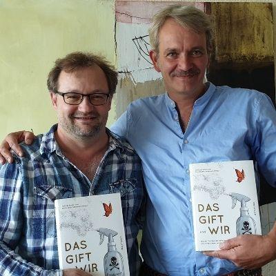 Herausgeber, links Mathias Forster (Geschäftsführer und Stiftungsrat, Bio-Stiftung Schweiz), rechts Christopher Schümann (Mitarbeiter Projekte, Bio-Stiftung Schweiz)