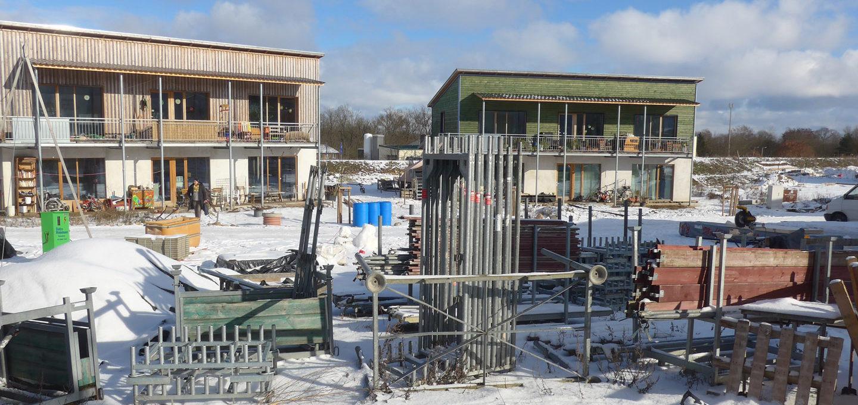 Hitzacker Dorf: Baustelle Dorfstrasse