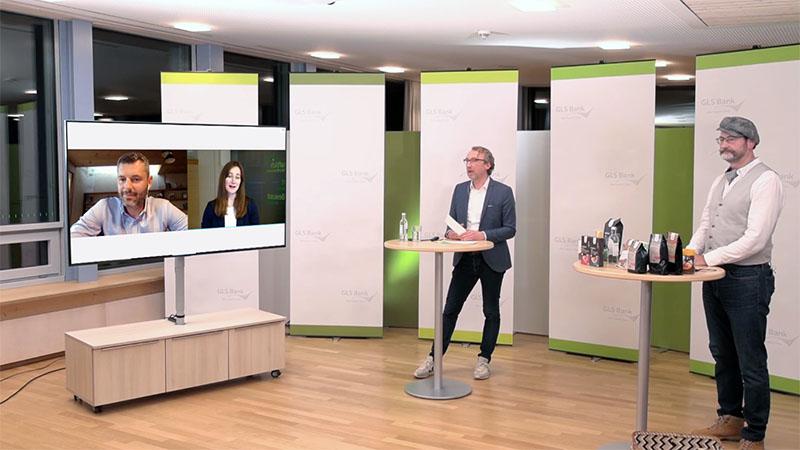 GLS Bank erleben - Empfang für Neukund*innen 2021