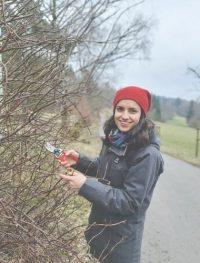 Daria Urman (33) Investmentpartnerin der Purpose Stiftung, lebt auf Sonnerden, einem 2020 gegründeten Zukunftsdorf